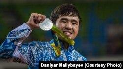 Дзюдошы Елдос Сметов - Рио олимпиадасының күміс жүлдегері. 6 тамыз 2016 жыл.