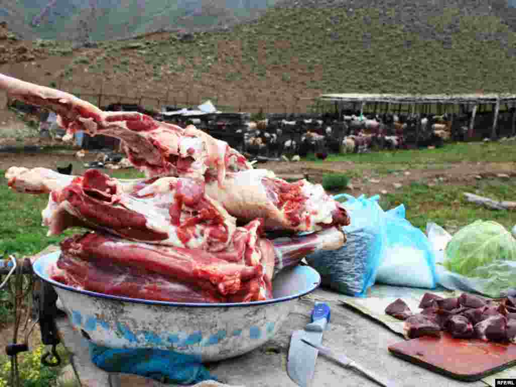 Turkmenistan is 90th on the list, with a recorded consumption of 41 kilograms of meat a year.