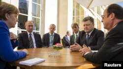 «Նորմանդական քառյակի»՝ պետությունների ղեկավարների մակարդակով հանդիպումը Փարիզում, 2-ը հոկտեմբերի, 2016թ․