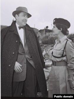 هرمان ووک در اورشلیم در ۱۹۵۵