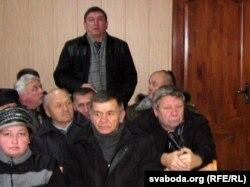 Дэпутат Бандарэнка пратэстуе, каб журналісты здымалі ў залі суду