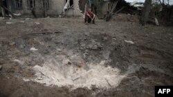 Станиця Луганська після обстрілу, архівне фото