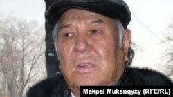 Жазушы Дулат Исабеков. Алматы, 8 ақпан 2012 жыл.