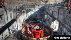 Камбар-Ата ГЭСинин курулушу