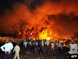 دهها نفر در جریان انفجار هتل ماریوت کشته شدند