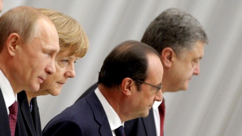 Меркель, Олланд і Путін обговорили виконання Мінських домовленостей