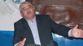 Директор шетпинского предприятия Бекберген Курбанов. 26 декабря 2013 года.