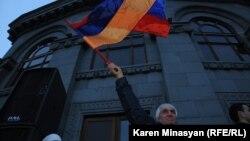 Armeni - Protesta kundër procesit zgjedhor presidencial