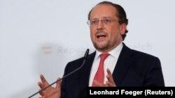 Austrian Foreign Minister Alexander Schallenberg (file photo)