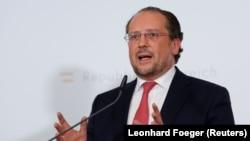 Ministri i Jashtëm austriak Alexander Schallenberg.