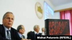 Promocija knjiga Instituta za istraživanje zločina protiv čovječnosti i međunarodnog prava Univerziteta u Sarajevu, 2011.
