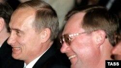 Сергей Степашин с Владимиром Путиным, архивное фото