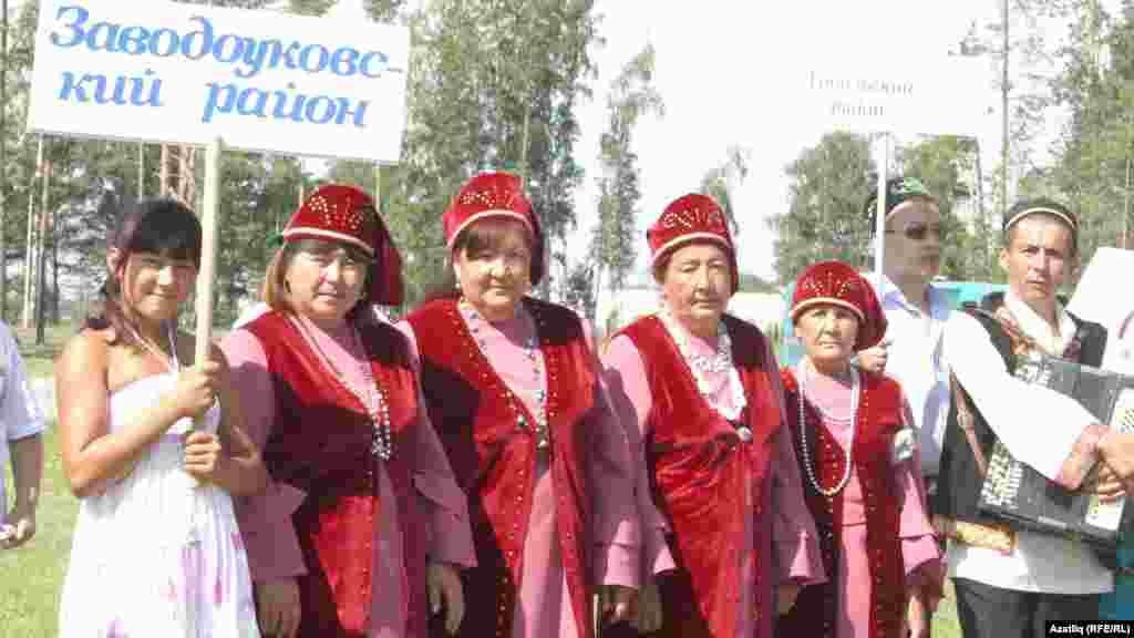 Заводоуковски районы вәкилләре