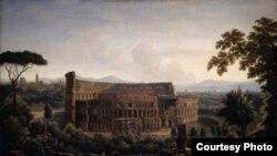 Матвеев Федор Михайлович. «Вид Рима. Колизей». 1816 год