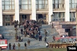 Российский Белый дом. 4 октября 1993 года