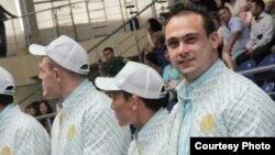 Қазақстандық ауыр атлеттер. Астана, 12 шілде 2012 жыл