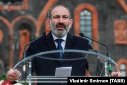 Armenia's acting Prime Minister Nikol Pashinian