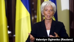 IMF Managing Director Christine Lagarde (file photo)
