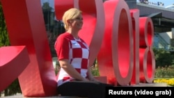 """""""Na svjetskom nogometnom prvenstvu u Rusiji, Grabar Kitarović je postala globalna medijska zvijezda"""""""