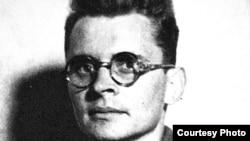 """Драгомир Барта вскоре после освобождения из Эбензее. В послевоенные годы он был редактором выходившей в Чехословакии газеты """"Rude pravo"""". Фото из архива автора."""