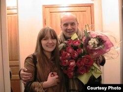 Александр Филиппенко с дочерью Александрой