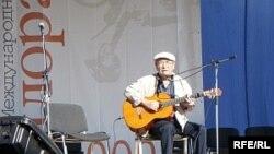 "Юлий Ким на фестивале ""Пилорама""-2008"