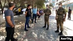 Sumqayıtda xüsusi karantin rejimi