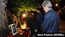 Na godisšnjicu ubojstva Jovanovića, arhivska snimka
