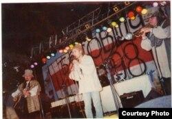 «Палац» на «Басовішчы», канец 1990-х