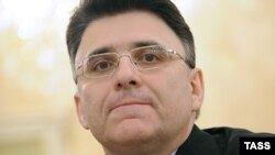 Aleksandr Zharov is head of Roskomnadzor, which regulates the Russian Internet. (file photo)