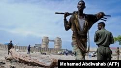 Сотрудники сил безопасности Сомали. Иллюстративное фото.