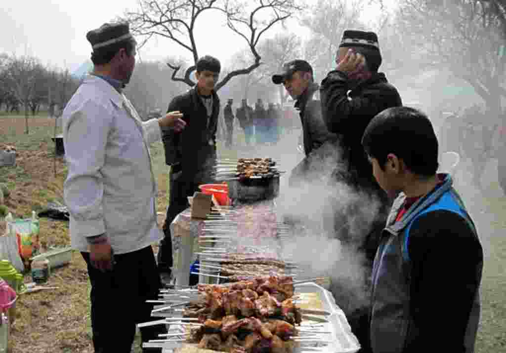 Celebrations of Norouz in Vorukh, a Tajik enclave in Kyrgyzstan.