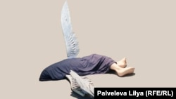 Падший ангел в инсталляции Ильи и Эмилии Кабаковых - олицетворение физической боли
