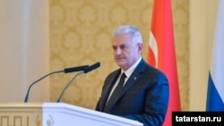 Turkish Prime Minister Binali Yıldırım (file photo)