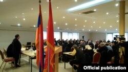 Armenia - Leaders of the Armenian Revolutionary Federation meet in Yerevan, 1 February 2018.