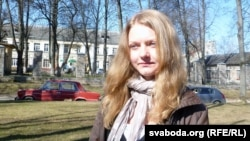 Belarus – Alena Semenchukova, public activist, Vitsebsk, 17Apr2012