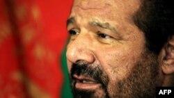 سید حسین انوری مشاور نظامی رئیس جمهور افغانستان