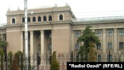 Здание мэрии города Душанбе
