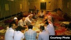 Alleppodaky etniki türkmenler.