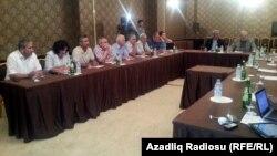 Վրաստան -- Ազգային խորհրդի և Ռուտամ Իբրահիմբեկովի հանդիպումը Թբիլիսիում, 30-ը հուլիս, 2013
