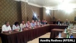 Грузия - Встреча представителей азербайджанской оппозиции в Тбилиси, 30 июля 2013 г.