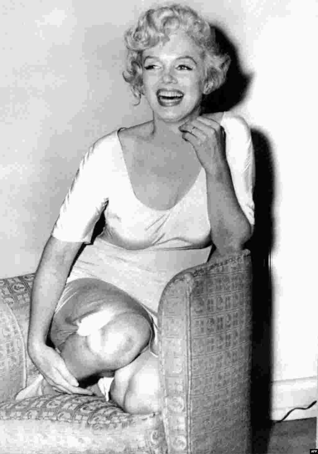 Marilyn Monroe, a few months before she died in 1962.