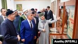 Миңнеханов ислам мәгарифе музее белән таныша