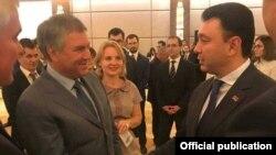 Турция -- Эдуард Шармазанов (справа) и Вячеслав Володин, Анталья, 8 октября 2018 г.
