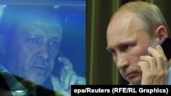 Redžep Tajip Erdoan i Vladimir Putin