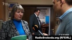 Голова Верховного суду Валентина Данішевська