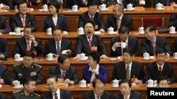 Pamje gjatë Kongresit të 18-të Kombëtar në Kinë (8 nëntor 2012)