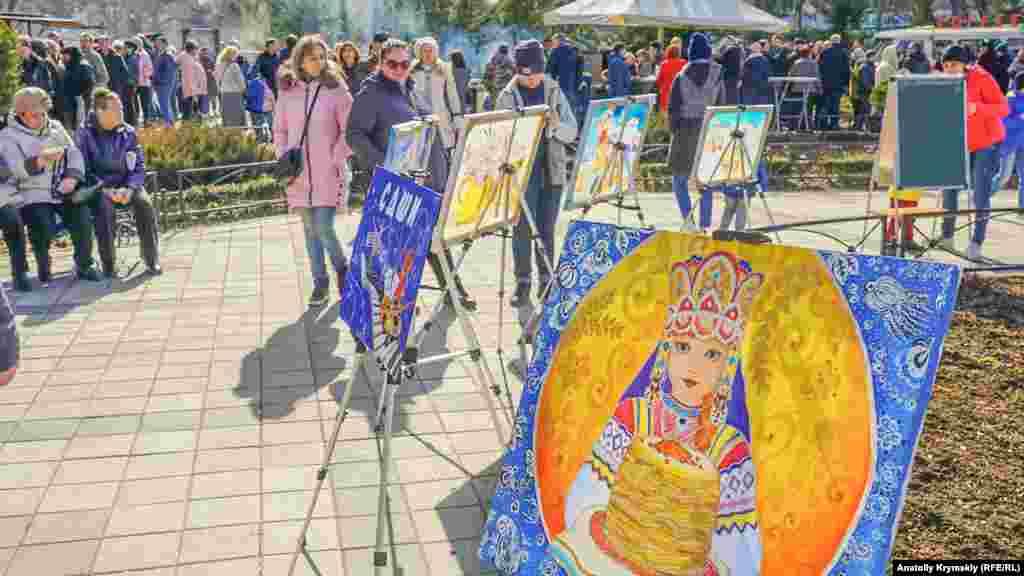 Виставка робіт учнів міської дитячої художньої школи