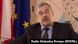 Полскиот амбасадор во Македонија, Јацек Мултановски.