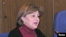 İşçi Qrupun üzvü Səidə Qocamanlı, 2 mart 2007